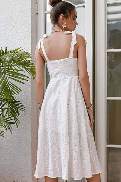 The Pure Dress, White
