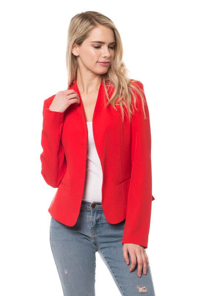 Criss Cross Blazer