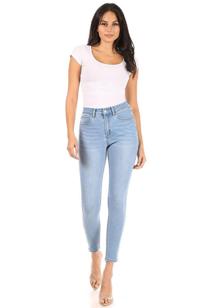 Light Stone Skinny Jeans