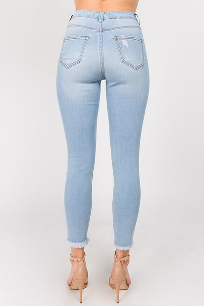 Destruction Jeans - Light Blue