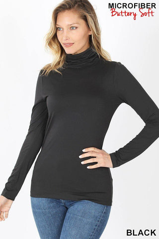 Basic Black Turtleneck