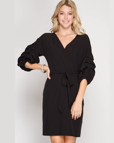 Wrap-Me-Up Dress - FashionFunPop, Trendy, fashion, plus, skinny, fitted, ripped, dress, dresses, tops, blazers, women, clothing, bathing suits, swimwear, vacation, stylish, jewelry, accessories, handbags, shoes, boutique, shopping, store, clutch, clutches, handbag, blouses, mom, mommy, tee, tees, jeans,   pants, maxi, maxies, rompers, jumpers, sexy, clearance, new, sales, mika rose, she and sky, &, blvd, in style, esley, gilli, blu pepper, earrings, bracelets, bangles, statement, necklaces, scarfs, gloves, ripped, sweaters, bikini, tankini, one piece, stop staring, gowns, prom dresses, wedding dresses, wedding, prom