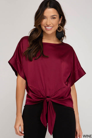 Satin Princess Top