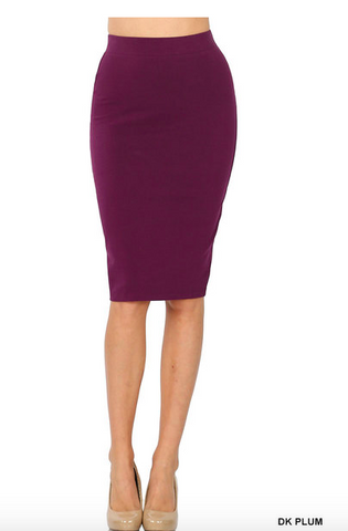 Basics Pencil Skirt