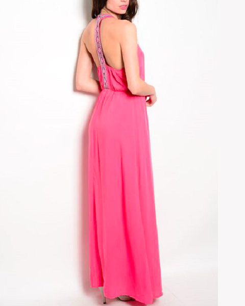 Faux Wrap Maxi Dress - FashionFunPop, Trendy, fashion, plus, skinny, fitted, ripped, dress, dresses, tops, blazers, women, clothing, bathing suits, swimwear, vacation, stylish, jewelry, accessories, handbags, shoes, boutique, shopping, store, clutch, clutches, handbag, blouses, mom, mommy, tee, tees, jeans,   pants, maxi, maxies, rompers, jumpers, sexy, clearance, new, sales, mika rose, she and sky, &, blvd, in style, esley, gilli, blu pepper, earrings, bracelets, bangles, statement, necklaces, scarfs, gloves, ripped, sweaters, bikini, tankini, one piece, stop staring, gowns, prom dresses, wedding dresses, wedding, prom