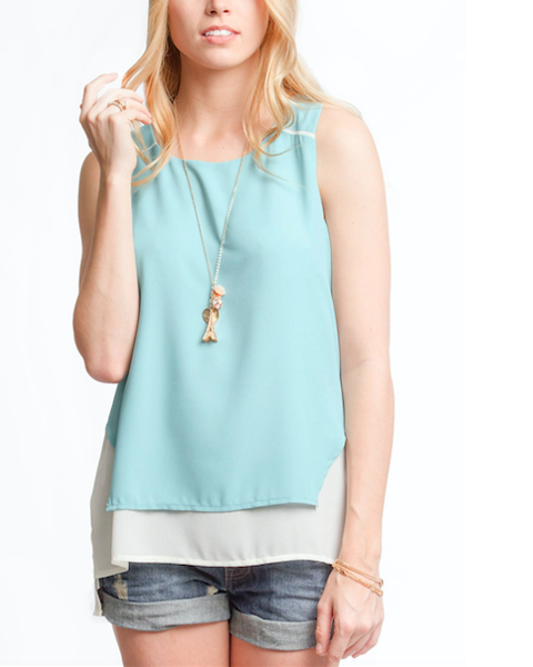 Dusty Mint Top - FashionFunPop, Trendy, fashion, plus, skinny, fitted, ripped, dress, dresses, tops, blazers, women, clothing, bathing suits, swimwear, vacation, stylish, jewelry, accessories, handbags, shoes, boutique, shopping, store, clutch, clutches, handbag, blouses, mom, mommy, tee, tees, jeans,   pants, maxi, maxies, rompers, jumpers, sexy, clearance, new, sales, mika rose, she and sky, &, blvd, in style, esley, gilli, blu pepper, earrings, bracelets, bangles, statement, necklaces, scarfs, gloves, ripped, sweaters, bikini, tankini, one piece, stop staring, gowns, prom dresses, wedding dresses, wedding, prom