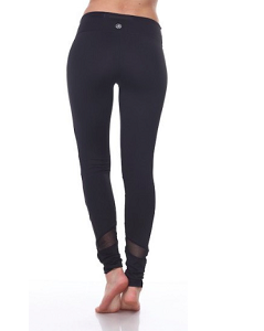 LA Society Peekaboo Compression Active Pants