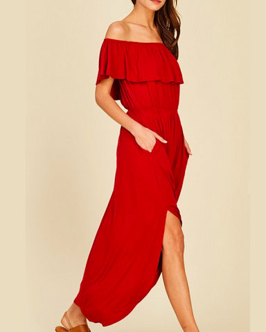 The Annabella Maxi Dress
