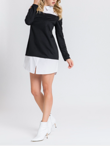 Urbanista Shirt Dress - Black