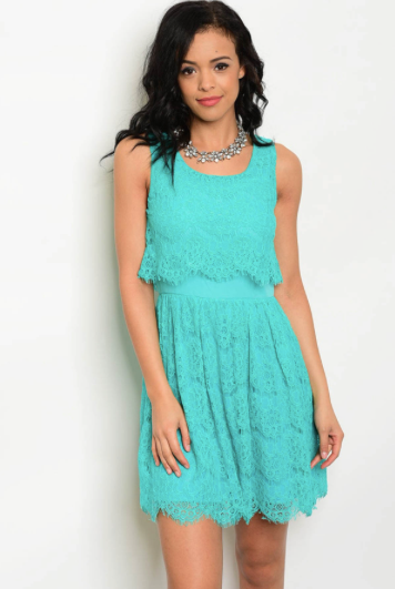 Lacey Layer Dress
