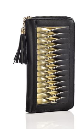 Gold Slit Wallet
