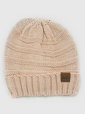 Insulated Knit Beanie Hat