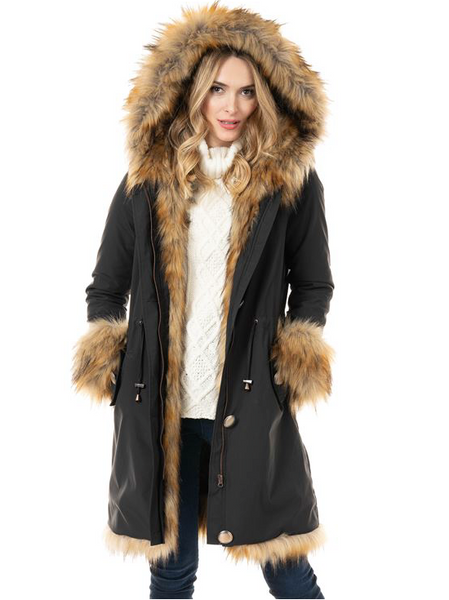 Stormy Winter Coat - Black