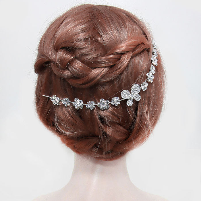 Flower Hair Pin - FashionFunPop, Trendy, fashion, plus, skinny, fitted, ripped, dress, dresses, tops, blazers, women, clothing, bathing suits, swimwear, vacation, stylish, jewelry, accessories, handbags, shoes, boutique, shopping, store, clutch, clutches, handbag, blouses, mom, mommy, tee, tees, jeans,   pants, maxi, maxies, rompers, jumpers, sexy, clearance, new, sales, mika rose, she and sky, &, blvd, in style, esley, gilli, blu pepper, earrings, bracelets, bangles, statement, necklaces, scarfs, gloves, ripped, sweaters, bikini, tankini, one piece, stop staring, gowns, prom dresses, wedding dresses, wedding, prom