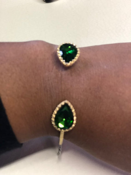 Crystal Trimmed Cuff Bracelet - FashionFunPop, Trendy, fashion, plus, skinny, fitted, ripped, dress, dresses, tops, blazers, women, clothing, bathing suits, swimwear, vacation, stylish, jewelry, accessories, handbags, shoes, boutique, shopping, store, clutch, clutches, handbag, blouses, mom, mommy, tee, tees, jeans,   pants, maxi, maxies, rompers, jumpers, sexy, clearance, new, sales, mika rose, she and sky, &, blvd, in style, esley, gilli, blu pepper, earrings, bracelets, bangles, statement, necklaces, scarfs, gloves, ripped, sweaters, bikini, tankini, one piece, stop staring, gowns, prom dresses, wedding dresses, wedding, prom