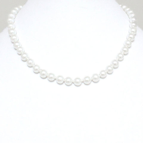 Pearl Necklaces - White - FashionFunPop, Trendy, fashion, plus, skinny, fitted, ripped, dress, dresses, tops, blazers, women, clothing, bathing suits, swimwear, vacation, stylish, jewelry, accessories, handbags, shoes, boutique, shopping, store, clutch, clutches, handbag, blouses, mom, mommy, tee, tees, jeans,   pants, maxi, maxies, rompers, jumpers, sexy, clearance, new, sales, mika rose, she and sky, &, blvd, in style, esley, gilli, blu pepper, earrings, bracelets, bangles, statement, necklaces, scarfs, gloves, ripped, sweaters, bikini, tankini, one piece, stop staring, gowns, prom dresses, wedding dresses, wedding, prom, plus jeans. plus size,a-line,
