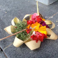 Bali traditional offering