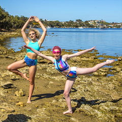 Vibrant active and beachwear