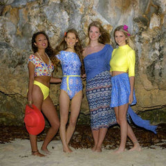 Modelling with the swimwear models