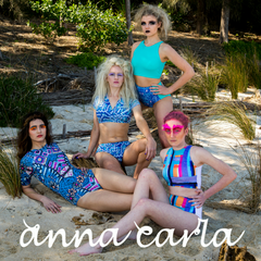 Anna Carla Swimwear Prussian Empress collection