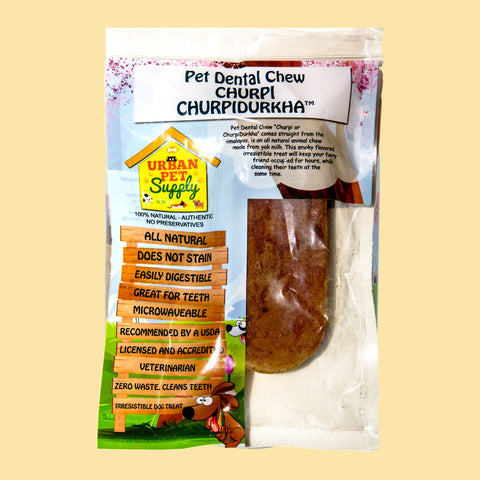 Pet Dental Chew - ChurpiDurkha - X-Large (6.5 oz)