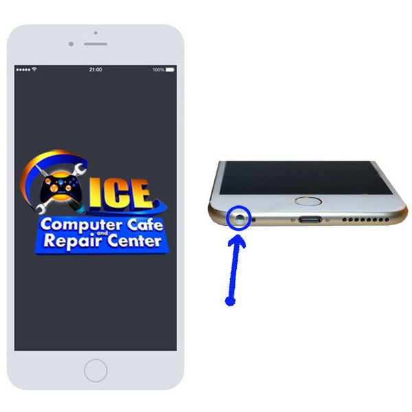 iPhone 6S+ Headphone Jack Repair - ICE Repair Center