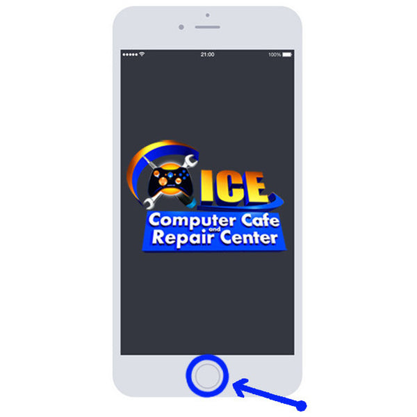 iPhone 6S+ Home Button Repair - ICE Repair Center