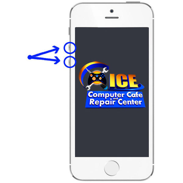 iPhone 5S Volume Button Repair - ICE Repair Center