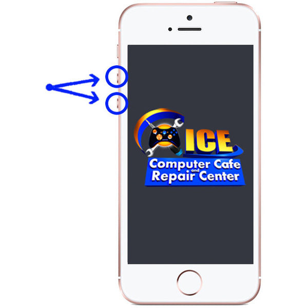 iPhone SE Volume Button Repair - ICE Repair Center