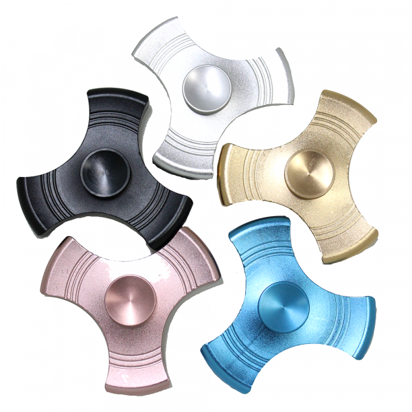 Metal Fidget Spinner (Assorted Colors)