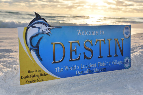 Destin Florida Sign