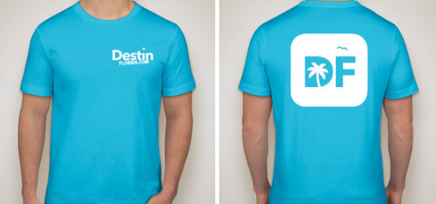 DestinFlorida.com T-Shirt - Blue