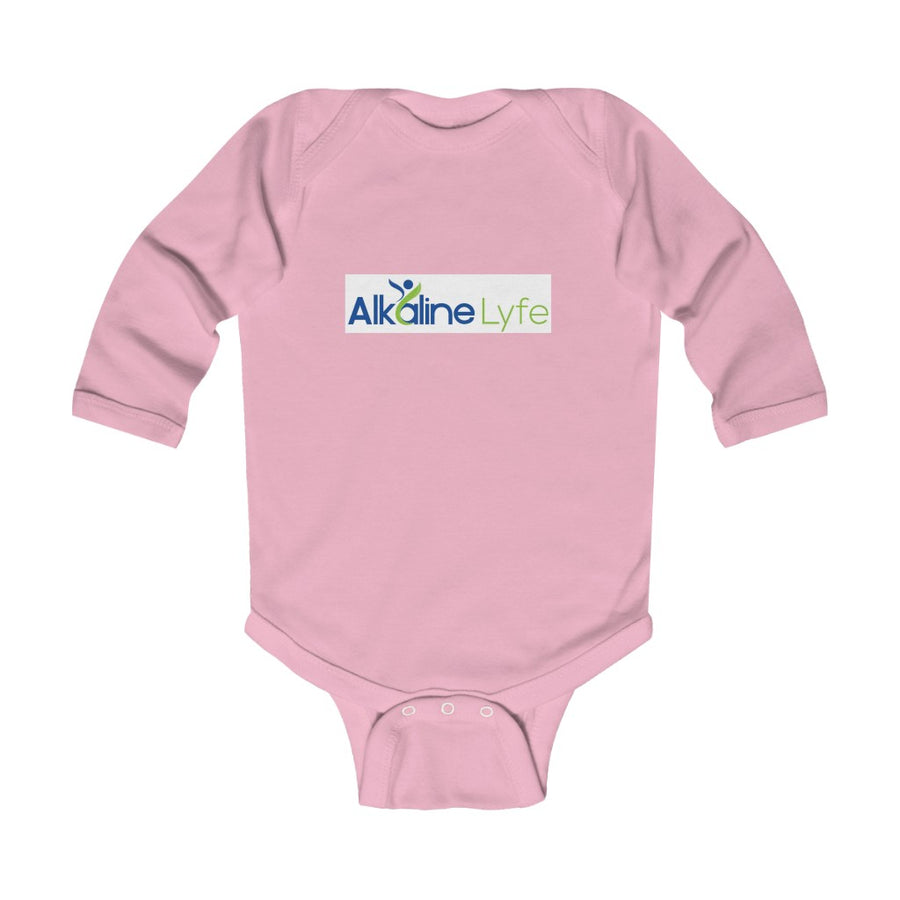 Alkaline Lyfe Infant Long Sleeve Bodysuit