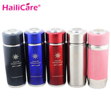 Alkaline Hydrogen Negative Ion Water Ionizer Bottles Energy Nano Flask Cups Water Filter Cup Daily Health Care with Filter 400ml