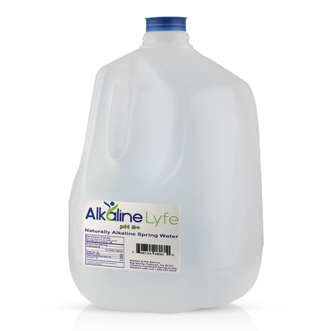 Alkaline Lyfe Natural Alkaline Water 1 Gallon Case 4 pack