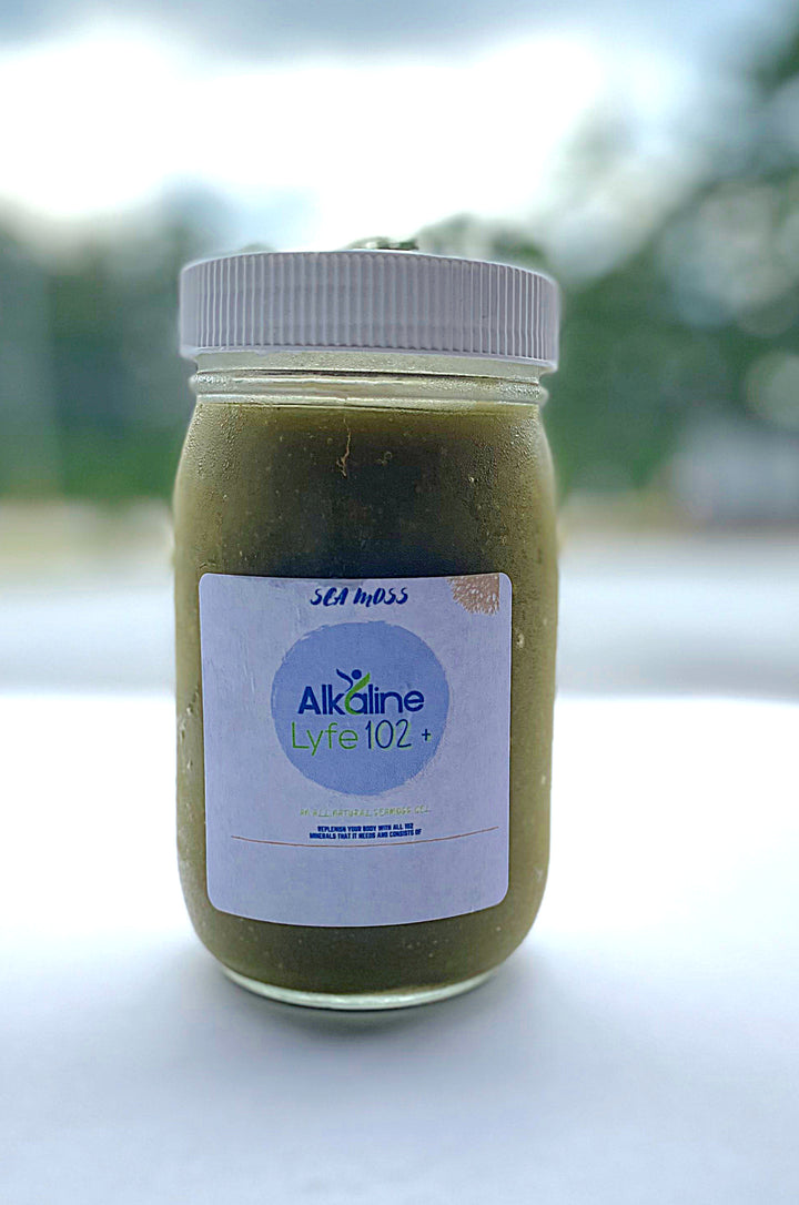Alkaline Lyfe 102 16 oz (Sea Moss + Gel)