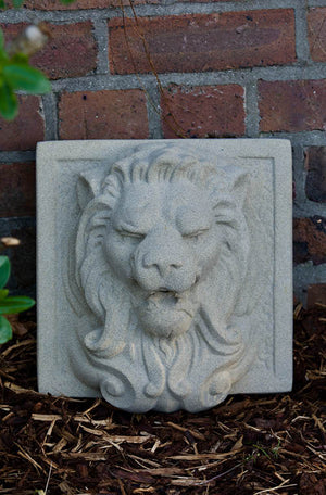 Faraway Garden Lion Head Wall Feature
