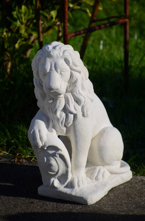 Faraway Garden Lion with Shield