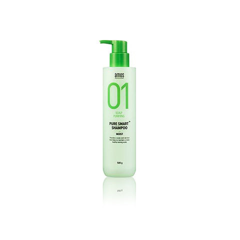 AMOS 01 Scalp Purifying Pure Smart Shampoo - MOIST 500g