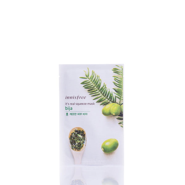 Innisfree It's Real Squeeze Mask - Bija