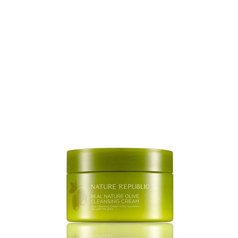 Nature Republic Real Nature Olive Cleansing Cream (200ml)
