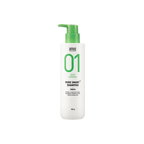 AMOS 01 Scalp Purifying Pure Smart Shampoo - FRESH 500g