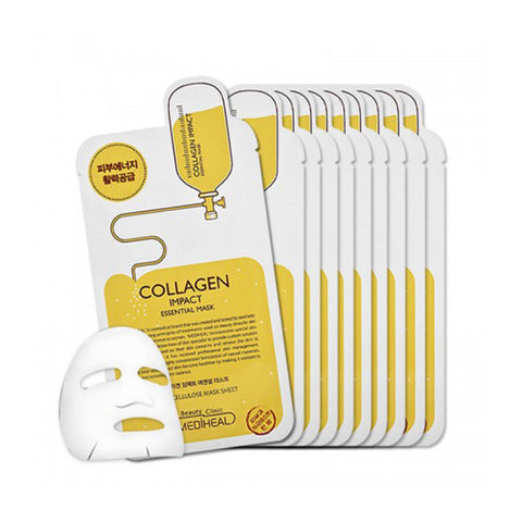 MediHeal Collagen Impact Essential Mask BOX