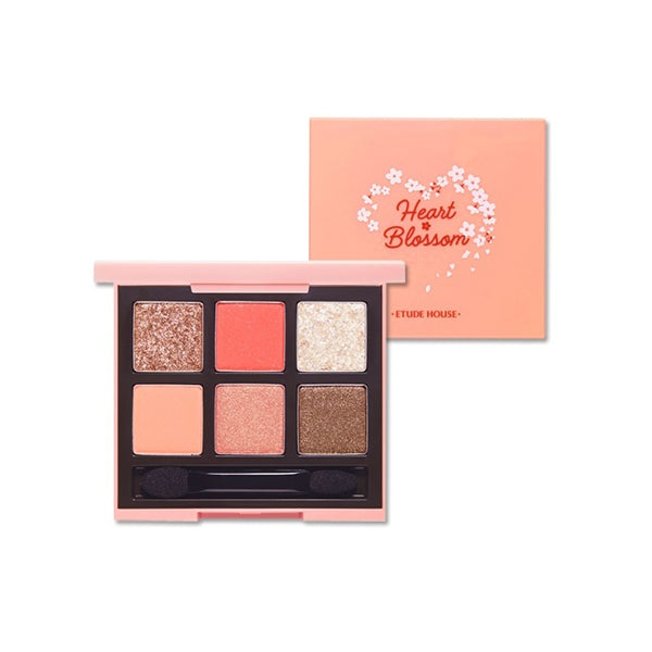 Etude House Play Color eyes Heart Blossom (#02 Coral Blossom)