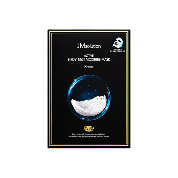 JM Solution Active Bird's Nest Moisture Mask (10 Sheets)