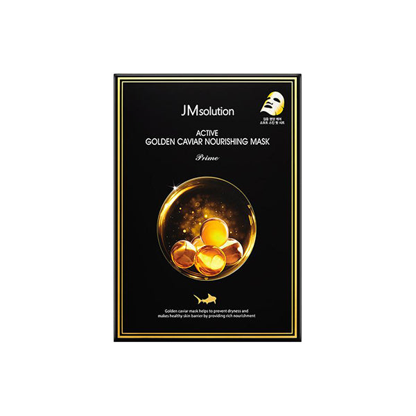 JM Solution Active Golden Caviar Nourishing Mask (10 Sheets)