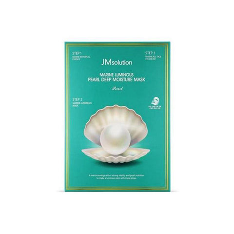 JM Solution Marine Luminous Pearl moisture mask (10Pcs)