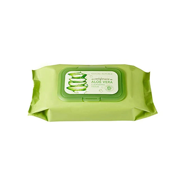 Nature Republic California Aloe Vera Cleansing Tissue (80pcs)