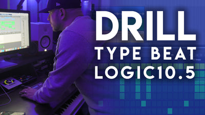 How to make a UK Drill/Grime Type Beat In Logic Pro X