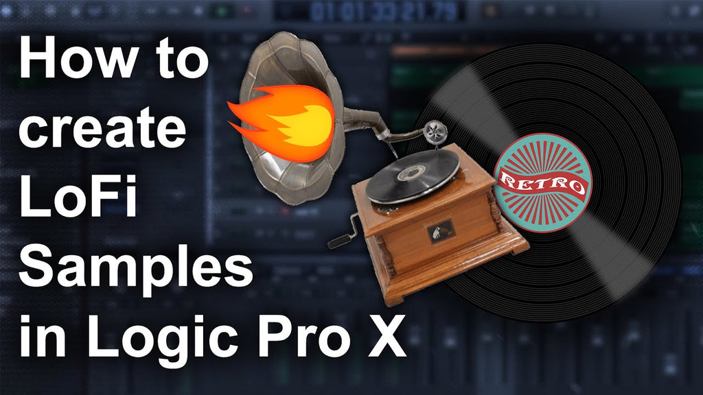 🎹 How to make Lofi Samples in Logic Pro X
